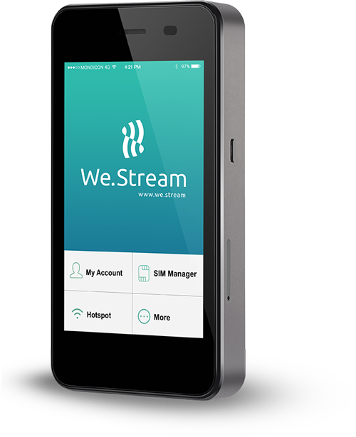 We.Stream - Netinsat
